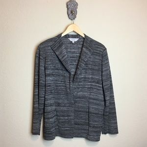 Exclusively Misook knit blazer